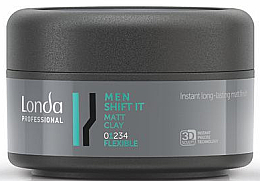 Parfums et Produits cosmétiques Argile coiffante matifiante - Londa Professional Men Shift It Matt Clay