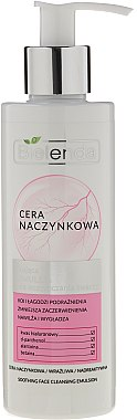 Emulsion nettoyante à l'acide hyaluronique pour visage - Bielenda Capillary Skin Soothing Face Cleansing Emulsion