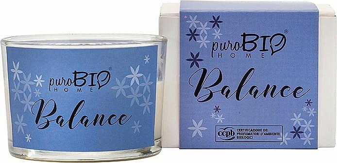 Bougie parfumée bio, Équilibre - PuroBio Home Organic Balance — Photo N1
