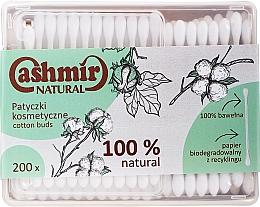Parfums et Produits cosmétiques Coton-tiges, 200 pcs - Cashmir Natural Cotton Buds