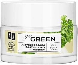Parfums et Produits cosmétiques Pâte purifiante à l'extrait de céleri pour visage - AA Go Green