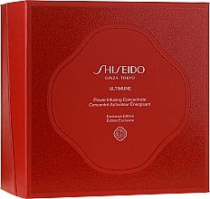 Parfums et Produits cosmétiques Coffret cadeau - Shiseido Ultimune (conc/50ml + foam/15ml + softner/30ml + conc/3ml)