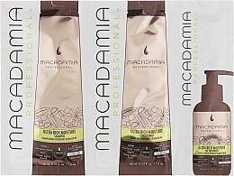 Parfums et Produits cosmétiques Macadamia Professional Ultra Rich Travel - Set à l'huile de macadamia et argan (shampooing/10ml + après-shampooing/10ml + huile/5ml)