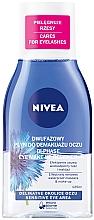 Parfums et Produits cosmétiques Démaquillant bi-phasé pour yeux - Nivea Visage Double Effect Eye Make-Up Remover