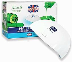 Parfums et Produits cosmétiques Lampe LED, blanc - Ronney Profesional Nicole LED 24 W RE 00049 Lamp