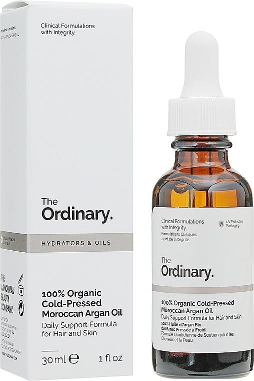 Huile d'argan marocaine bio pressée à froid - The Ordinary 100% Organic Cold-Pressed Moroccan Argan Oil