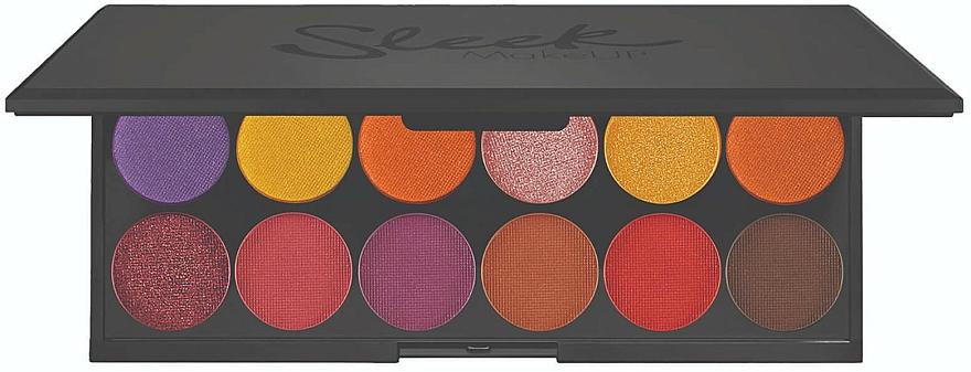 Palette d'ombres à paupières - Sleek MakeUP iDivine Chasing The Sun Eyeshadow Palette