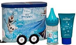 Parfums et Produits cosmétiques Disney Frozen - Coffret cadeau pour enfant (eau de toilette 50ml + gel douche 75ml)