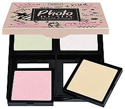 Parfums et Produits cosmétiques Fixateurs à poure compacte 2en1 - Wibo Photo Ready Press Powder