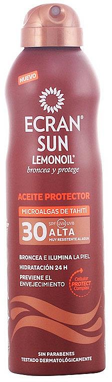Huile de bronzage - Ecran Sun Lemonoil Oil Spray SPF30 — Photo N1