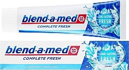 Parfums et Produits cosmétiques Dentifrice plus bain de bouche, fraîcheur longue durée - Blend-a-med Complete Fresh Long Lasting Fresh