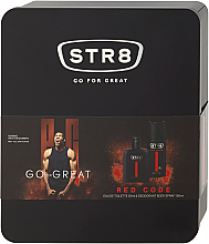 Parfums et Produits cosmétiques STR8 Red Code - Set (eau de toilette/50ml + déodorant spray/150ml)