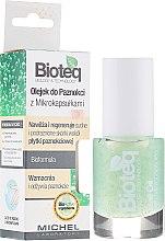 Parfums et Produits cosmétiques Huile à ongles avec microcapsules - Bioteq Nail Oil With Microcapsules