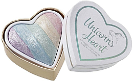 Parfums et Produits cosmétiques Highlighteurs pour visage - Makeup Revolution I Heart Makeup Unicorns Heart