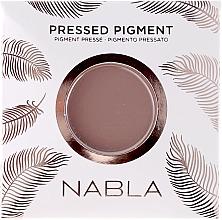 Parfums et Produits cosmétiques Fard à paupières mat - Nabla Pressed Pigment Feather Edition Matte Refill Eyeshadow (recharge)