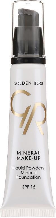 Fond de teint minéral - Golden Rose Liquid Powdery Mineral Foundation