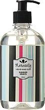 Parfums et Produits cosmétiques Savon liquide à l'huile de rose blanche pour mains - Naturally Hand Soap Summer Nights