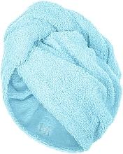 Parfums et Produits cosmétiques Serviette pour cheveux, menthe, 68x26cm - MakeUp