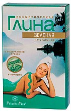 Parfums et Produits cosmétiques Argile verte cosmétique naturelle avec de l'argent - MedikoMed