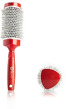 Parfums et Produits cosmétiques Brosse brushing thermique, 33 mm - Upgrade Triangular Concave Thermal Brush Red Angle
