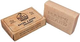 Parfums et Produits cosmétiques Savon à barbe au lait de chèvre - Man's Beard Savon Exfoliant Coconut Soap