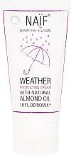 Parfums et Produits cosmétiques Crème protectrice à l'huile d'amande pour enfants, corps et visage - Naif Weather Protection Cream