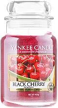 Parfums et Produits cosmétiques Bougie parfumée en jarre Cerise noire - Yankee Candle Scented Votive Black Cherry