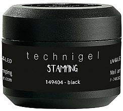 Parfums et Produits cosmétiques Gel pour nail art et nail stamping, noir - Peggy Sage Nail Art And Stamping Gel