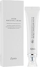 Parfums et Produits cosmétiques Crème illuminatrice à l'acide hyaluronique pour visage - Esfolio Snow Whitening Cream