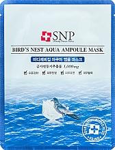 Parfums et Produits cosmétiques Masque tissu à l'extrait de nid d'hirondelle pour visage - SNP Birds Nest Aqua Ampoule Mask