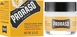 Parfums et Produits cosmétiques Cire pour moustache - Proraso Moustache Wax Wood & Spice