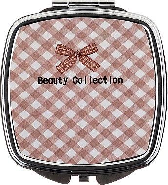 Miroir de poche carré 85635, motif carreaux - Top Choice Beauty Collection Mirror #6