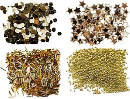 Parfums et Produits cosmétiques Paillettes Nail Art - Peggy Sage Nail Glitter Mini Kit Or