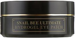 Parfums et Produits cosmétiques Patchs hydrogel au filtrat de bave d'escargot pour contour des yeux - Benton Snail Bee Ultimate Hydrogel Eye Patch