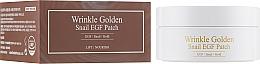 Parfums et Produits cosmétiques Patchs hydrogel au filtrat de bave d'escargot contour des yex - The Skin House Wrinkle Golden Snail EGF Patch