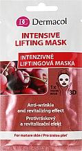 Parfums et Produits cosmétiques Masque tissu 3D à l'extrait de cerise pour visage - Dermacol 3D Inzensive Lifting Mask