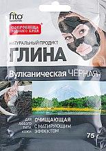 Parfums et Produits cosmétiques Argile noire nettoyante volcanique pour visage et corps - Fito Kosmetik