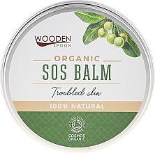 Parfums et Produits cosmétiques Baume à l'huile de tamanu bio pour corps - Wooden Spoon SOS Balm Trouble Skin