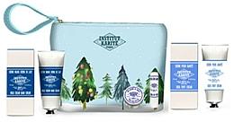Parfums et Produits cosmétiques Coffret cadeau - Institut Karite Shea (butter/10ml + lipstick/4g + h/cr/75ml + foot/cr/75ml + bag)