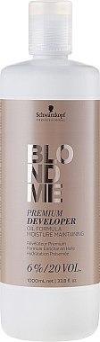 Révélateur enrichie en huile 6% - Schwarzkopf Professional Blondme Premium Developer 6%