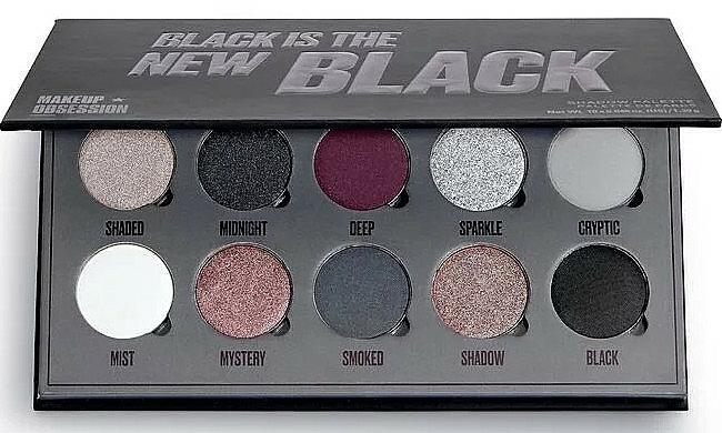 Palette de fards à paupières - Makeup Obsession Black Is The New Black — Photo N1