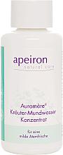 Parfums et Produits cosmétiques Concentré de bain de bouche aux herbes - Apeiron Auromere Herbal Mouthwash Concentrate