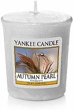 Parfums et Produits cosmétiques Bougie parfumée votive Perle d'automne - Yankee Candle Scented Votive Autumn Pearl