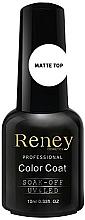 Parfums et Produits cosmétiques Top coat pour vernis semi-permanent, mat - Reney Cosmetics Top Matte Velvet No Wipe