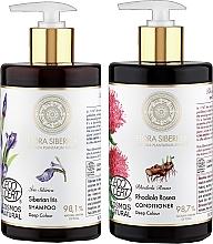 Parfums et Produits cosmétiques Natura Siberica - Set (shampooing/480ml + après-shampooing/480ml)