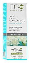 Parfums et Produits cosmétiques Concentré liftante à l'acide hyaluronique et eau de rose pour visage - ECO Laboratorie