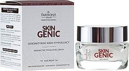 Parfums et Produits cosmétiques Crème de nuit à l'huile d'amande douce - Farmona Professional Skin Genic