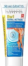 Parfums et Produits cosmétiques Crème dépilatoire pour corps et zone bikini - Eveline Cosmetics 8w1 Total Action