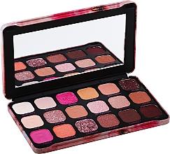 Parfums et Produits cosmétiques Palette de fards à paupières, 18 couleurs - Makeup Revolution Forever Flawless Palette