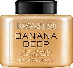 Parfums et Produits cosmétiques Poudre de baking pour visage, Banane - Makeup Revolution Banana Deep Baking Powder